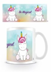 Witte Unicorns Be Magical - Mok