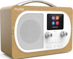 Pure Evoke H4 portables DAB / DAB + und FM Radio - Oak