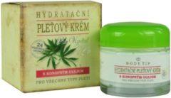 BODY TIP Hydraterende Gezichtscrème met Cannabisolie - 50ml