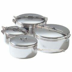 Zilveren MSR Alpine Stowaway kookpot topf, 775 ml grijs