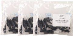 TEPE INTERDENTALE RAGERS ZWART 1,5 MM - 3 x 25 stuks - Voordeelverpakking - *Beste Koop*