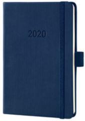 !weekagenda Sigel Conceptum A6 donkerblauw,176 blz., 80 g 2 Pagina's = 1 Week