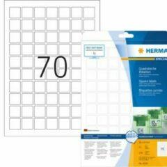 Verwijderbare etiketten Herma 10105 A4 24x24 mm vierkant wit Movables/verwijderbaar papier mat 1750 st.