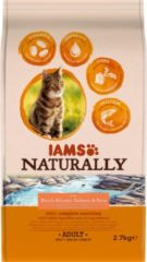 Iams Naturally Kat Adult North Atlantic Zalm&Rijst 2,7 kg