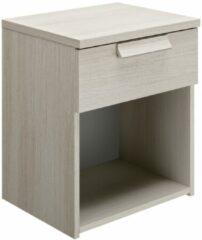 Gamillo Furniture Nachtkastje Cyrus 50 cm hoog in gekalkte esdoorn