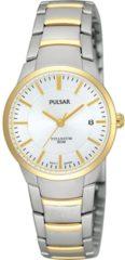Pulsar PH7128X1 horloge dames - zilver en goud - titanium