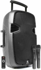 Zwarte Moonlight 2e keus - Vonyx SPJ-PA915 Mobiele speaker 15 700W op accu met Bluetooth en USB