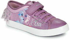 Paarse Lage Sneakers Geox JR CIAK GIRL
