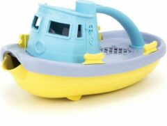 Groene Green Toys - Sleepboot Blauw/Paars