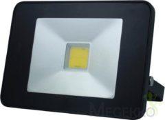 Zwarte Velleman DESIGN LED-SCHIJNWERPER MET BEWEGINGSMELDER - 20 W, NEUTRAALWIT