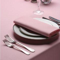 Roze Treb Horecalinnen Servetten, 4 Stuks, Pink, 51x51cm, Treb SP, Aanbevolen Stof