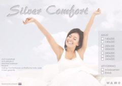 Witte ISleep Silver Comfort 4-Seizoenen Dekbed - Tweepersoons - 200x220 cm - Wit
