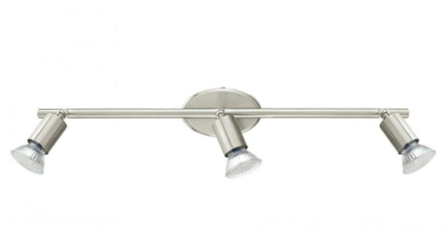Afbeelding van Roestvrijstalen EGLO Buzz - Plafondspots - 3 Lichts - LED - Nikkel-Mat