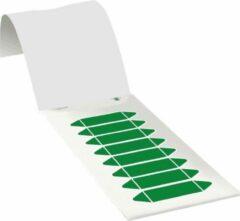 Groene ESVSHOP.nl Leidingmarkeringsetiketten om te beschrijven