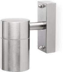 Grijze Ranex Smartwares 2605.009-B Solo - Wandlamp - 1 lichts - 63 mm - staal