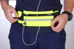 Blauwe Merkloos / Sans marque Heuptasje - Sport - Fitness - Hardlopen - Volwassenen