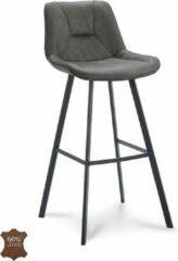 Happy Chairs - Barkruk Hugo ZH80 - Bull Grafiet