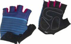 Rogelli Ds Wielerhandschoen Impress Blauw/Roze XS