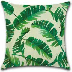 Donkergroene By Javy Jungle - Phao - Kussenhoes - 45x45 cm - Sierkussen - Polyester