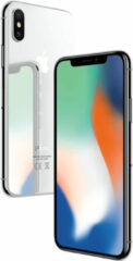 Zilveren Apple Refurbished Forza Refurbished Apple iPhone X 64GB Silver | Zo goed als nieuw | A grade | Incl. Twee jaar Garantie