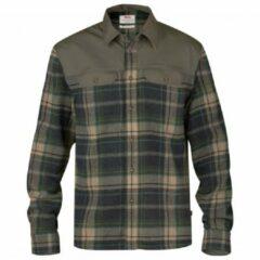 Fjällräven - Granit Shirt - Overhemd maat 3XL zwart/olijfgroen