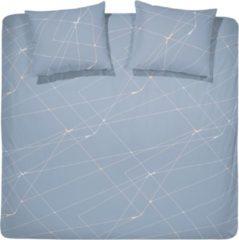 Grijze Damai Acies - Dekbedovertrek - Tweepersoons - 200x200/220 cm + 2 kussenslopen 60x70 cm - Grey