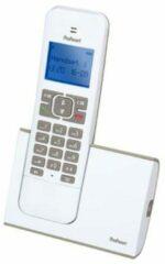 Grijze Profoon PDX-8400 WT/TE DECT Draadloze telefoon - 1 Handpost - GAP compatible - Wit/Taupe