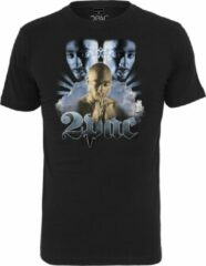 Zwarte Mister Tee Tupac heaven Tee black T-shirt maat XL
