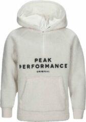 Witte Peak Performance Originial Pile Zip Hood Originial Pile Zip Hood Unisex Sweater Maat 140