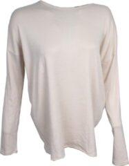 Sport Sweater Cross Back Beige - Pursue Fitness