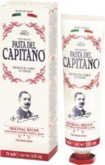 Pasta del Capitano 1905 Original Recipe - Tandpasta - Zonder Fluoride, smaak op basis van kruidnagelbladeren, groene mint en kaneel