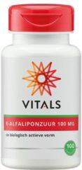 Vitals R-Alfaliponzuur 100mg Capsules