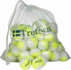Tretorn Plus 72 Stuks Geel/Wit Bag