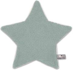 Groene Baby's Only knuffeldoekje Ster Classic Stone groen Knuffeldoekje 30 cm