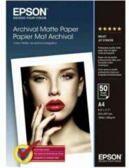 Epson Archival Matte Paper C13S041342 Fotopapier DIN A4 192 g/m² 50 vellen Mat
