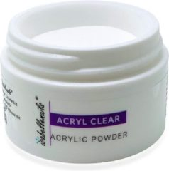 Isabelle Nails Acrylpoeder Clear 30ml.