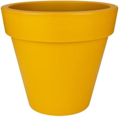 Afbeelding van Oranje Elho Pure Round Bloempot 40 cm Geel