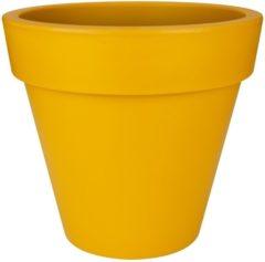 Gele Elho Pure Round Bloempot ø 40 cm - Oker
