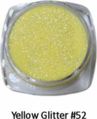 Gele Isabelle Nails Acrylpoeder Yellow Glitter #52
