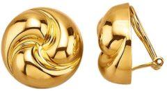 Goudkleurige Oorclips verguld Golden Style Geelgoudkleur