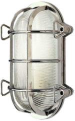Franssen Verlichting Maritiem wandlamp verchroomd messing - grijs