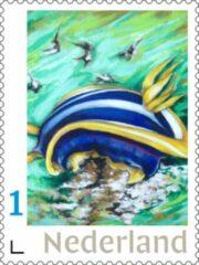 Groene Fransje Tacx, Art & Communication Postzegels voor post - Pearls of the Sea 1 (10 stuks kopen)