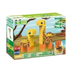Bruine BiOBUDDi bouwpakket Wildlife steppe 14-delig (BB-0103)