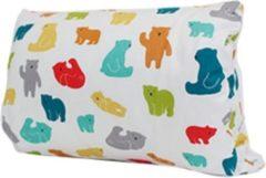 Witte Balonsi - voedingskussen - Borstvoeding - Comfort - Babyshower - Dierenpatroon