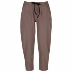 Backcountry - Women's On The Go Ankle Pant - Trainingsbroeken maat XS, bruin/grijs