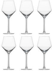 Transparante Schott Zwiesel Pure Beaujolais wijnglas - 0,47 l - 6 Stuks