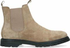 Sacha - Heren - Taupe suède chelsea boots - Maat 41