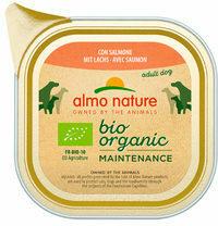 Almo Nature - Bio Organic Maintenance - Zalm - 9 x 300 g