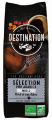 Destination Koffie selection arabica gemalen 250 Gram