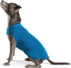 Marineblauwe GoldPaw Series Goldpaw - Stretch Fleece hondenjas - Blauwe pullover - maat 24 - grote maten